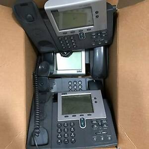 BULK Lot  35+  Cisco IP Phones 7940 ready to go. Redcliffe Belmont Area Preview