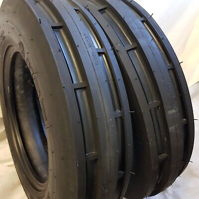 Rc 5.50-16 5.50x16 2 -tires Ford 6 Ply 3 Rib Tractor Tires Wtubes 5.50-16