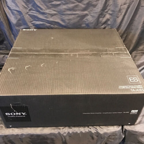 Sony 160W 2.0-Ch. High-Res Integrated Amplifier Silver TAA1ES