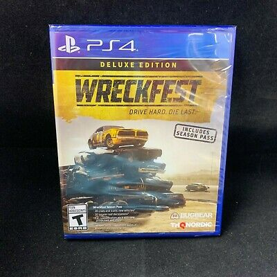 Wreckfest  Deluxe Edition (PS4 / PlayStation 4) BRAND NEW