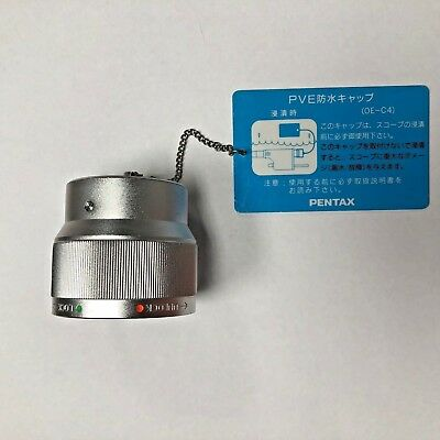 Pentax Oe-c4 Pve Soaking Cap Silver For Leak Testing Cleaning Endoscopes