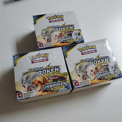 Pokemon Sun & Moon Unbroken Bonds Sealed Booster Box