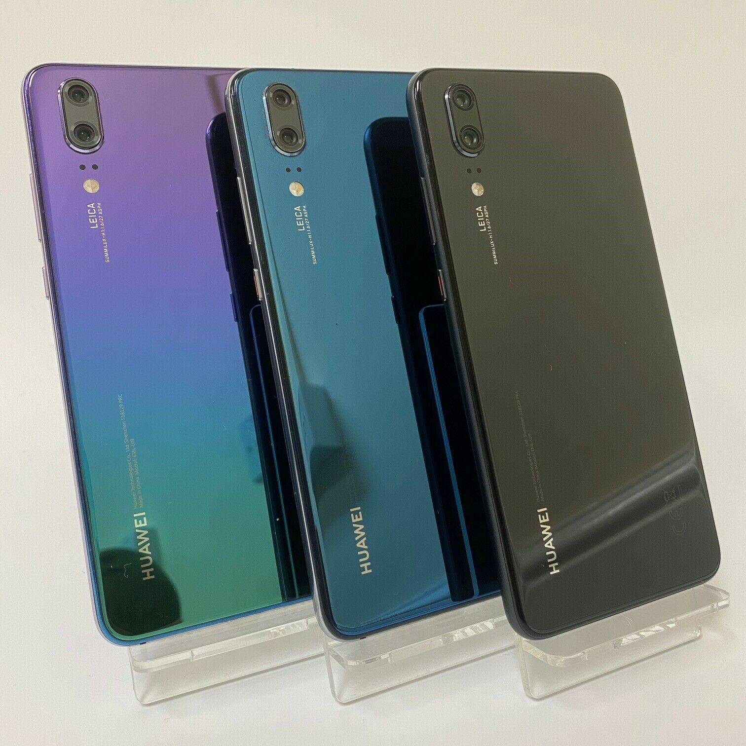 Android Phone - HUAWEI P20 128GB - UNLOCKED - Black / Blue / Twilight - Smartphone Mobile Phone