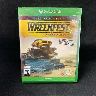 Wreckfest  Deluxe Edition (Xbox One) BRAND NEW