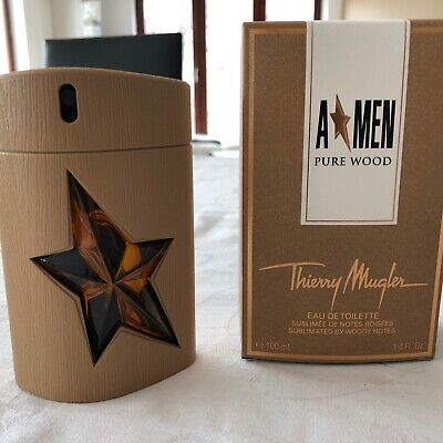 Thierry Mugler - A'men Pure Wood - 100 ml (95% full) - Limited Edition