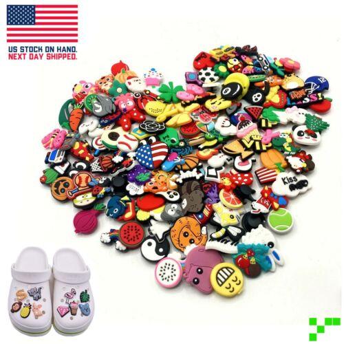 25/50/100/150 pc PVC Shoe Charms for Crocs Bracelet Mixed Lot Random A-Z Number