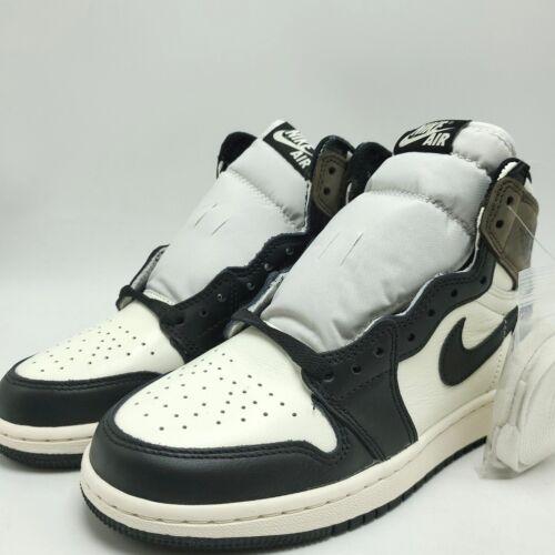Nike Air Jordan 1 Retro High OG  BG Youth shoes Dark Mocha 575441-105 sz 4-7