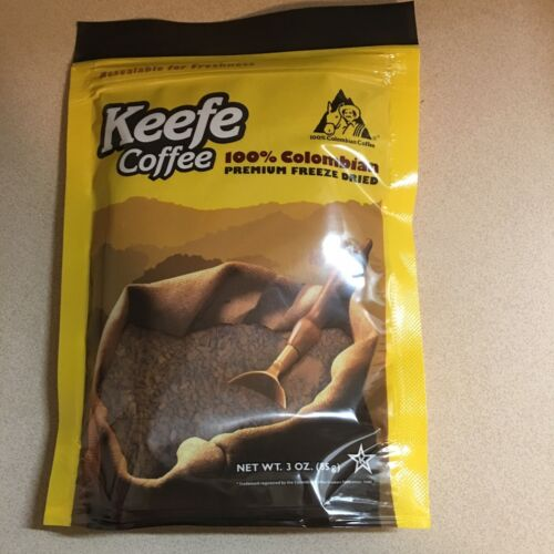 Keefe Freeze Dry Instant Coffee