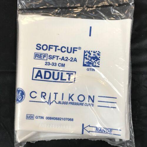 NEW GE Critikon SFT-A2-2A. Blood Pressure Cuff Adult Medium  Factory Sealed