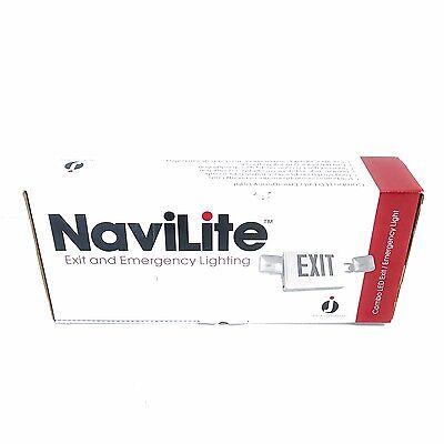 Juno Navilite Nxpc3rwh 120277vac Combo Led Exitemergency Light