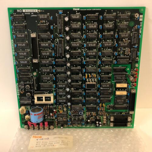 NEW UNUSED MAZAK H-400N SEQUENCER CONTROLLER BOARD MPS-510 510A 9102024 182903A7
