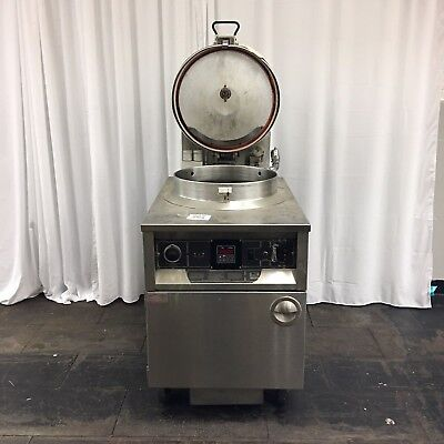 Used Bki Fkm-f Electric Pressure Fryer