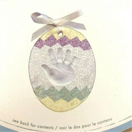Pottery Barn Kids Easter Hanging Egg Handprint Footprint DIY Kit New