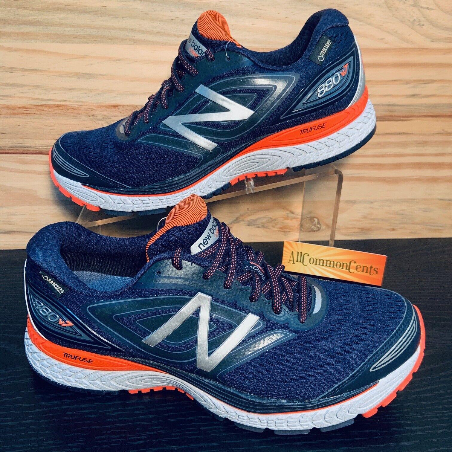 New Balance 880 V7 Gore-Tex Men's Running Shoes Size 8.5 Nav