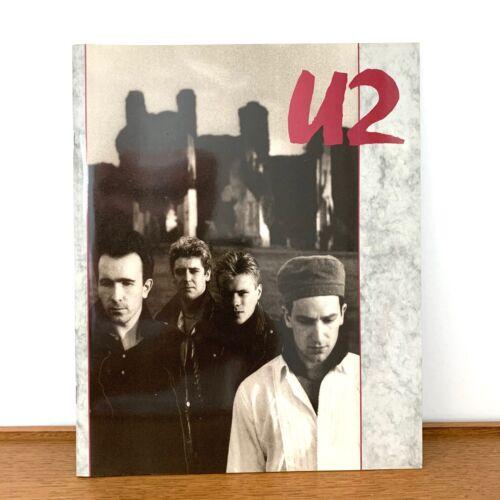 U2 1984-1985 UNFORGETTABLE FIRE TOUR PROGRAM CONCERT BOOK-BONO-EDGE-EXCELLENT