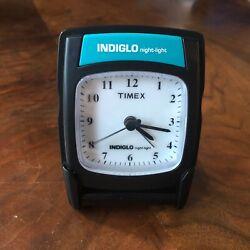Timex Travel Flip Clock with Indiglo night light