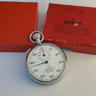 Vintage Omega, Stopwatch, sub-dial, 1/100, Preston Division - used, working