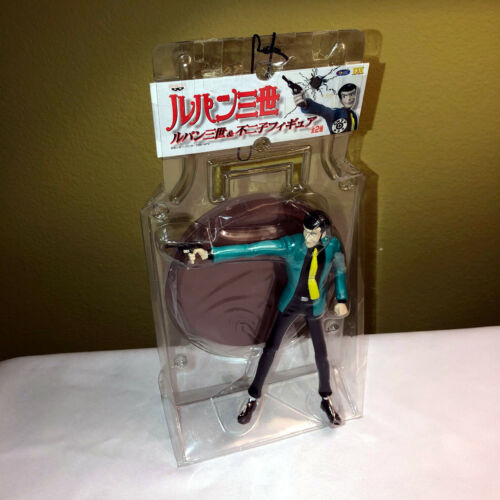 LUPIN THE THIRD 3rd Banpresto Action Figure Shooting Aiming with Base in Plastic