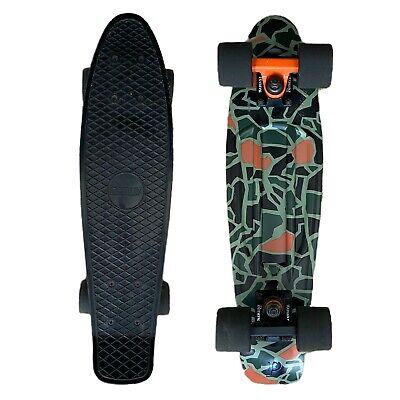 Penny Board Authentic Cruiser Skateboard Original Australia 22 in Black Green
