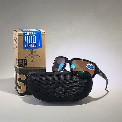 f65ce85f3f NEW COSTA DEL MAR Sunglasses IB 11 GMGLP ISABELA BLACK GREEN MIR 400G Glass