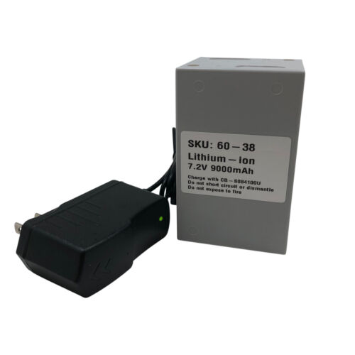Metz 60-38 Battery Cell for the 60 Series Flashes comes with a Charger