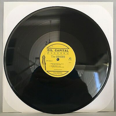 The Ushers   Cant Let You Go   Ep   Oil Capital Records   Private Pressing
