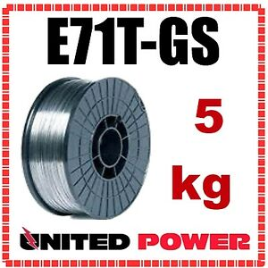 0.9mm X 5kg E71T-GS GASLESS MIG WELDING WIRE FLUX CORED  WELDER