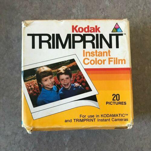 2-Pack of Kodak TRIMPRINT Instant Color Film HS144-10-2 Exp. 12/85 - 20 Pictures