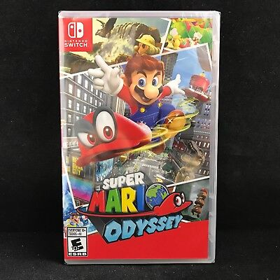 Super Mario Odyssey  Nintendo Switch  2017  Brand New   Region Free