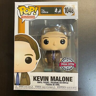 FUNKO POP OFFICE KEVIN MALONE TISSUE BOX SHOES 1048 SPECIAL EDITION EXCLUSIVE