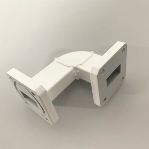 Advanced Microwave Waveguide WR-75 90 Degree H-Bend 2 In X 1.50 In 114280-10