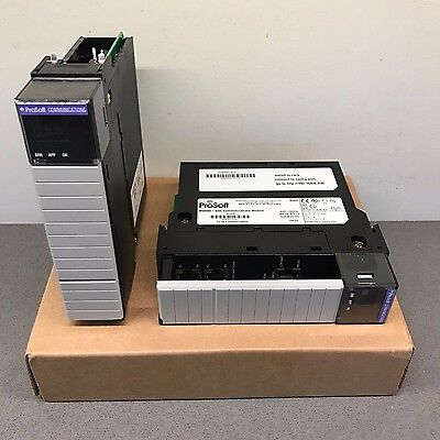 Prosoft Technology Mvi56e-gsc Generic Ascii Serial Enhanced Allen Bradley