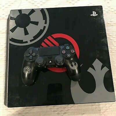 Sony Playstation PS4 Pro Star Wars Limited Edition 1TB Console w/ Controller