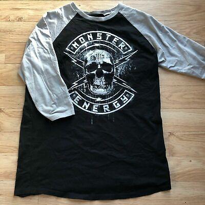 (Rare) Monster Energy Athlete Only Shirt L / UFC Redbull Gear Rockstar dirt bmx