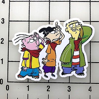 "ed edd n eddy 4"" Wide Vinyl Decal Sticker BOGO"
