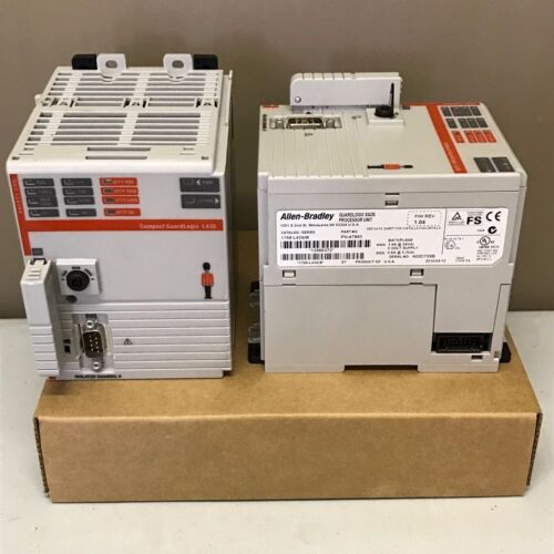 New Allen Bradley 1768-L43S /B CompactLogix L43 Safety Processor