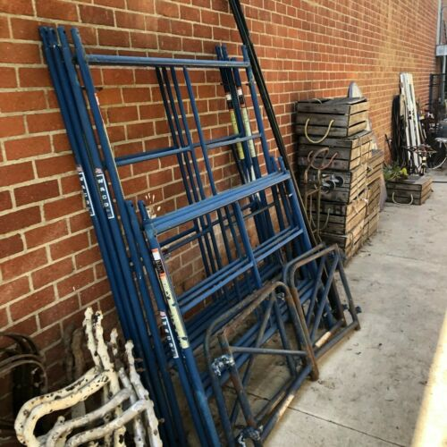 Scaffolding Frames and Parts (as is). Pick Up Only, Culver City 90232.