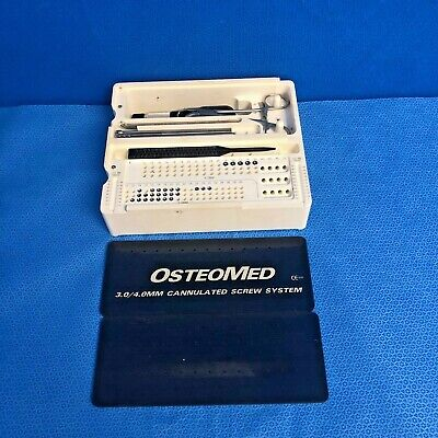 Osteomed 3.0 4.0mm Cannulated Screw System Trauma Orthopedic