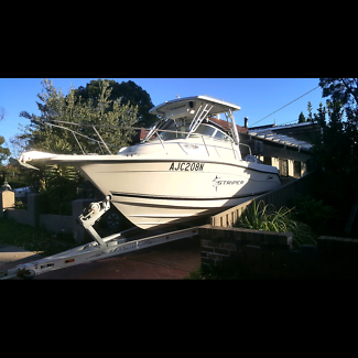 Sea swirl striper 2101 with 225 hp honda 4 stroke