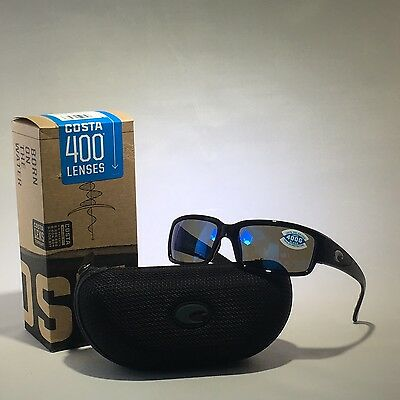 5131d0a93ae NEW COSTA DEL MAR CL 11 BMGLP CABALLITO BLACK BLUE MIR 400G SUNGLASSES