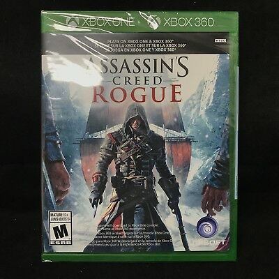 Assassin's Creed: Rogue (Xbox 360 / Plays on Xbox One) BRAND NEW
