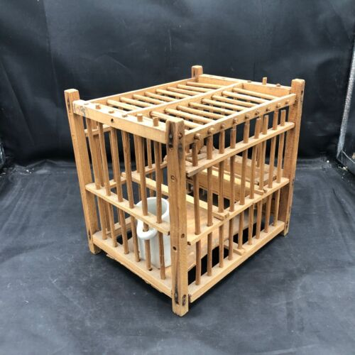 Antique Mining Collectibles - Bird Cage