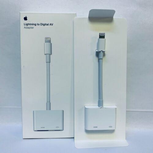 Genuine Apple Lightning Digital AV Adapter HDMI OEM Original - White   MD826AM/A