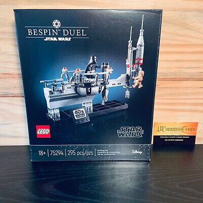 LEGO Star Wars Bespin Duel 75294 Empire Strikes Back 40th Anniversary NEW RARE