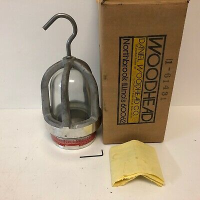 Nos In Box Daniel Woodhead Portable Electric Lamp For Haz. Loc. 1-61431 61430