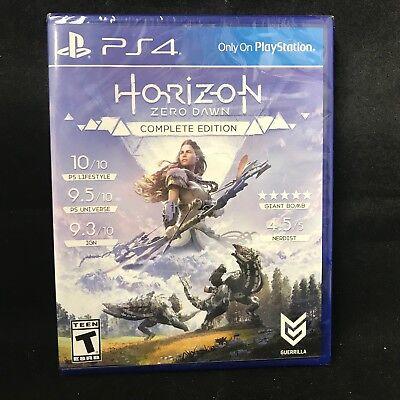 Horizon  Zero Dawn    Complete Edition  Sony Playstation 4  2017  Brand New
