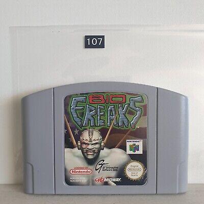 Bio Freaks - nintendo 64 N64 Game PAL seller Oz107