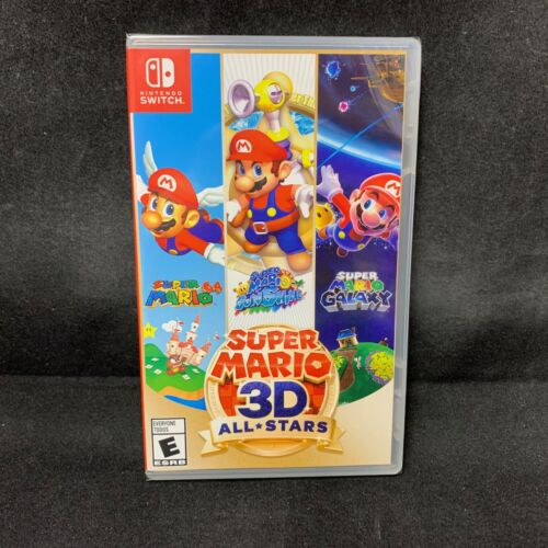 Super Mario 3D All Stars (Nintendo Switch) Physical Version / BRAND NEW