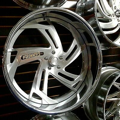 26 AMANI FORGED W TIRES  Box Chevy Impala Caprice Cutlass Chevelle BUILT TO ORDE