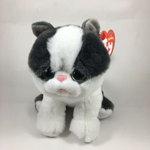 """TY Beanie Baby 6"""" YANG the Cat Plush Stuffed Animal Toy MWMTs Ty Heart Tags"""